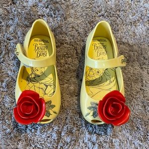 Mini Melissa beauty & the beast Mary Janes
